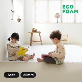 [에코폼] 맘편한매트 오리지널 6세트 퍼즐매트/놀이방매트