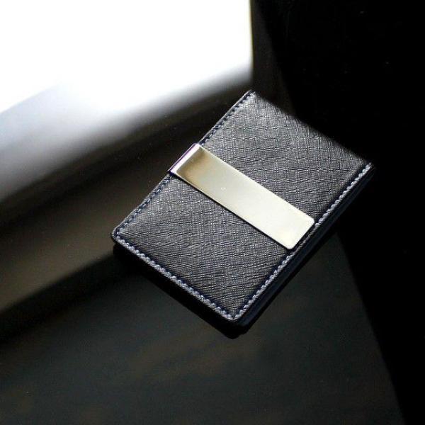 리더플랜 가죽 디자인 머니클립 지갑 레귤러 상품이미지