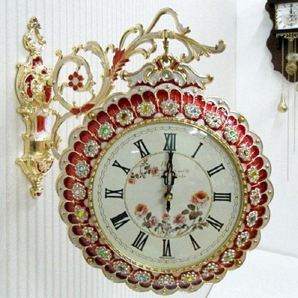 장미 양면시계 상품이미지