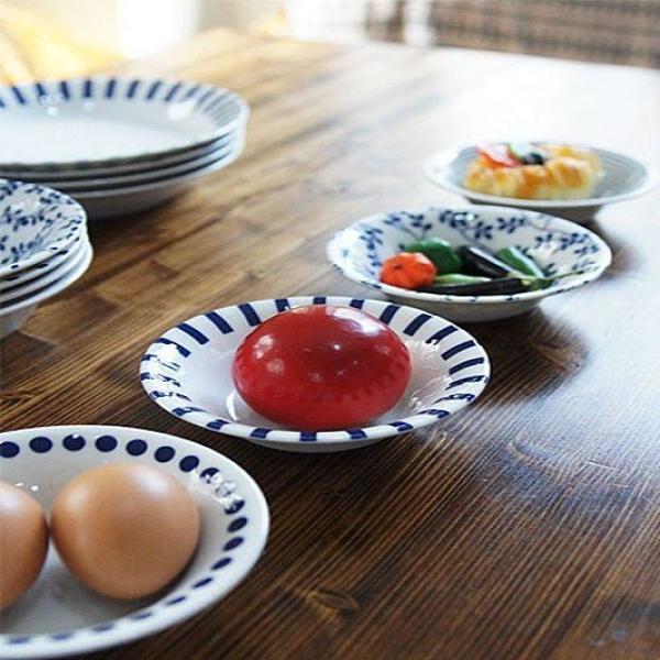 일본제작 도자기 블루에가와리 찬기 4P세트 대 상품이미지