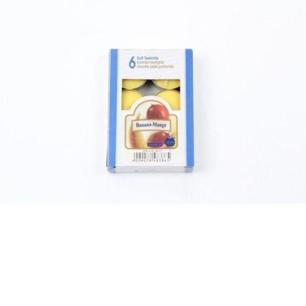 티라이트6P 바나나방고 양초 초 향초 티라이트 캔들 상품이미지