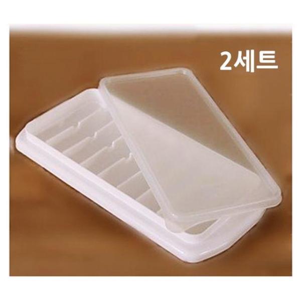뚜껑롱롱얼음트레이2세트 얼음제빙기 아이스제빙기 상품이미지