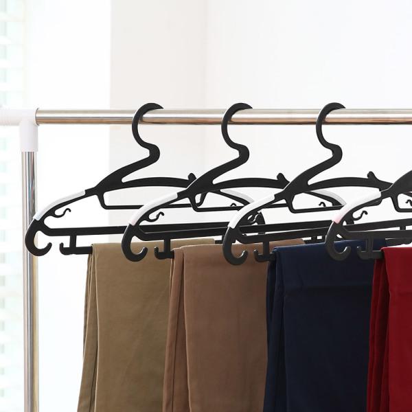 리벤스 논슬립바지걸이겸용옷걸이100개(블랙) 상품이미지