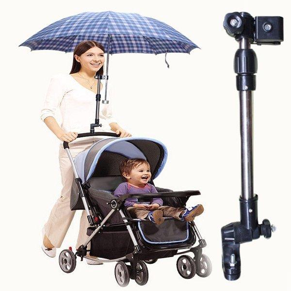유모차 자전거 우산 거치용 회전가능 스탠드 500012 상품이미지