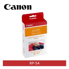 [캐논] [정품] 포토프린터전용용지 RP-54 [4X6 54매][CP1300/CP1200/