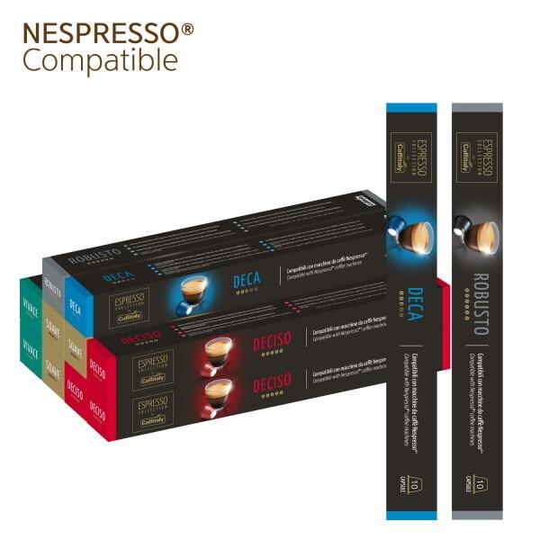 네스프레소 호환 캡슐커피 by 카피탈리  버라이어티 10팩(100알)+2팩(20알) 상품이미지