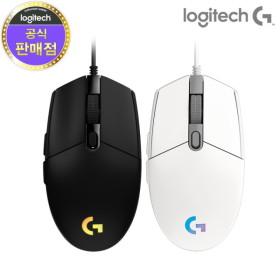 [로지텍코리아] G102IC PRODIGY 2세대 게이밍마우스 PC방 벌크