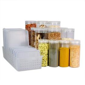 [실리쿡] 냉장고문수납용기 냉장고기본세트