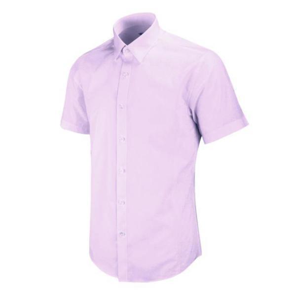반팔슬림)퍼플 솔리드 셔츠 MS220 상품이미지