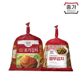 [종가집] (기획)포기김치 4kg+열무김치 2.5kg