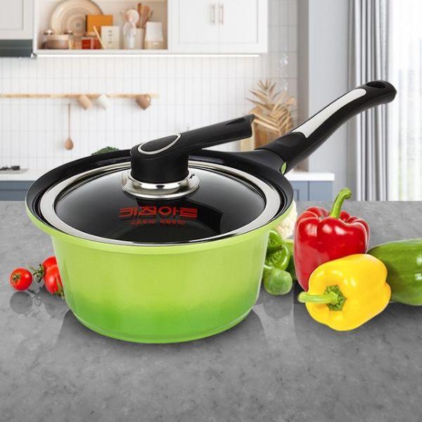 키친아트 세라믹 편수 18 주방용품 예쁜그릇 냄비세 상품이미지