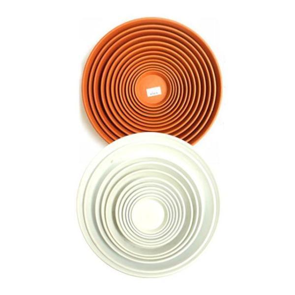 동그라미 화분받침 (13호 1개)  화분받침대 2종색상 상품이미지