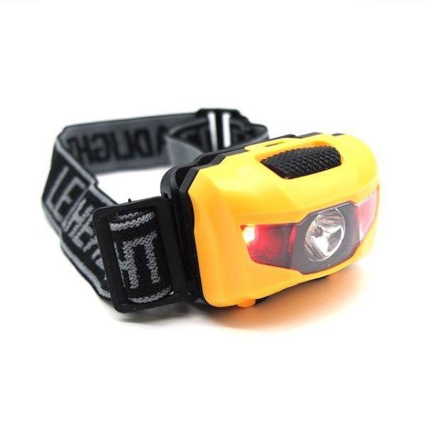 노랑 헤드랜턴 헤드램프 야외램프 등산램프 캠핑랜 상품이미지