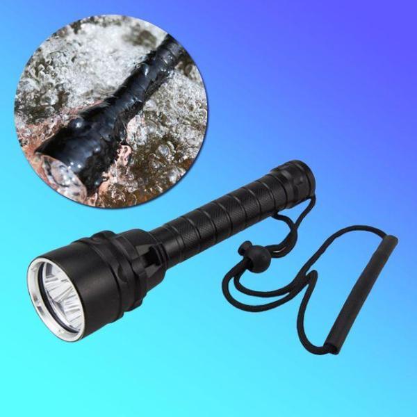 레이맨 K408-SET 수중랜턴 L2 LED 충전세트 방수 상품이미지