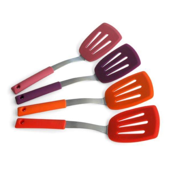 실리콘 뒤집개 조리 주방 키친 도구 (대) 상품이미지