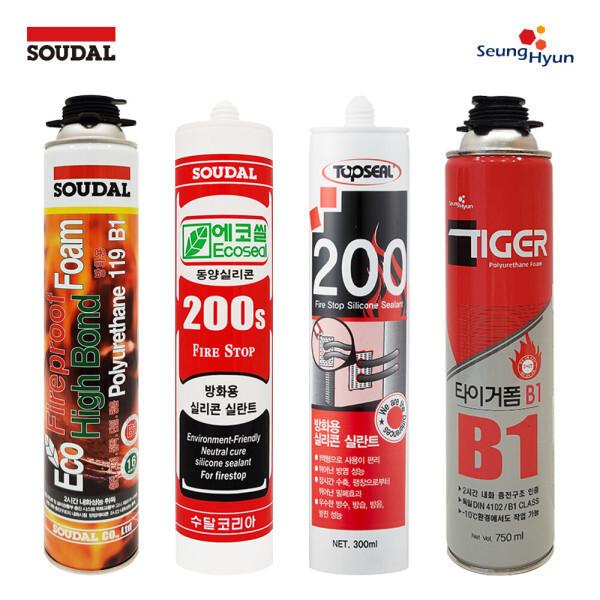 피셔 타이거 B1 DS 119 일액형 방화용 폴리 우레탄 폼 상품이미지