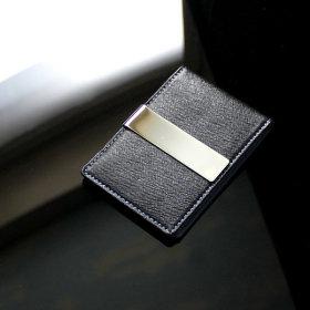 리더플랜 가죽 디자인 머니클립 지갑 카드지갑형