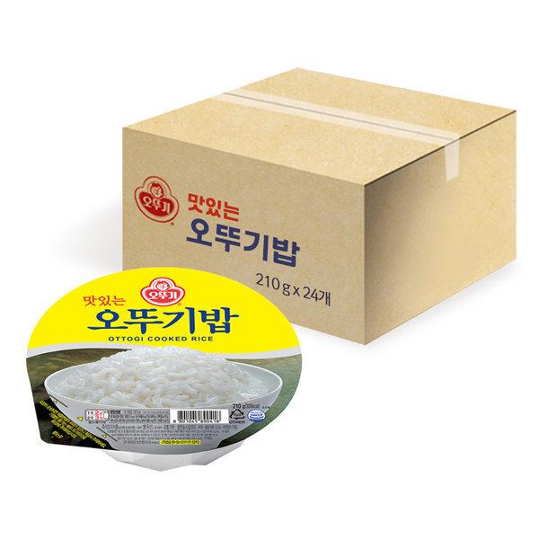 맛있는 오뚜기밥 210g x 24개입(1박스) 상품이미지