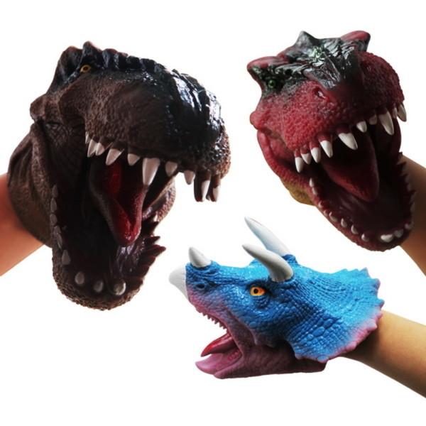 100%리얼 공룡장갑 (공룡놀이 손인형) 상품이미지