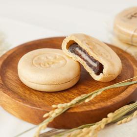 왕찹쌀 모나카 27개입 810g/과자/간식/팥/찰떡 +1개