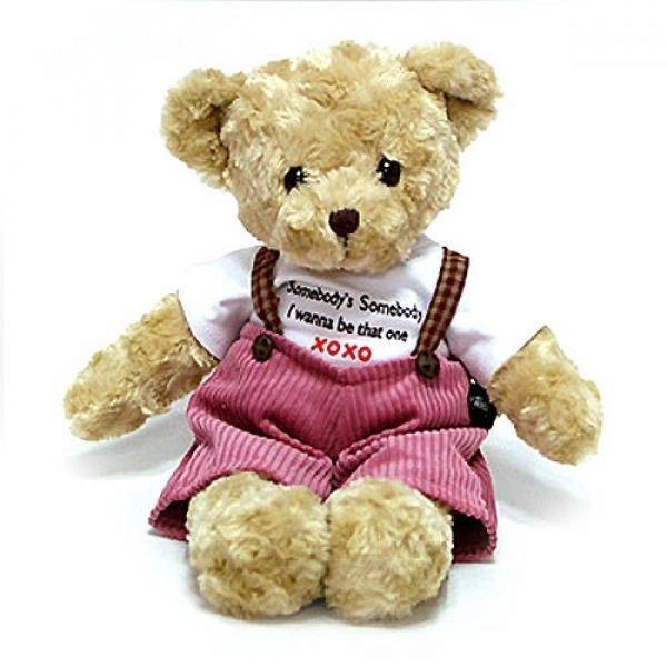체크테디베어 브라운 인형 남자곰(특대형) 상품이미지