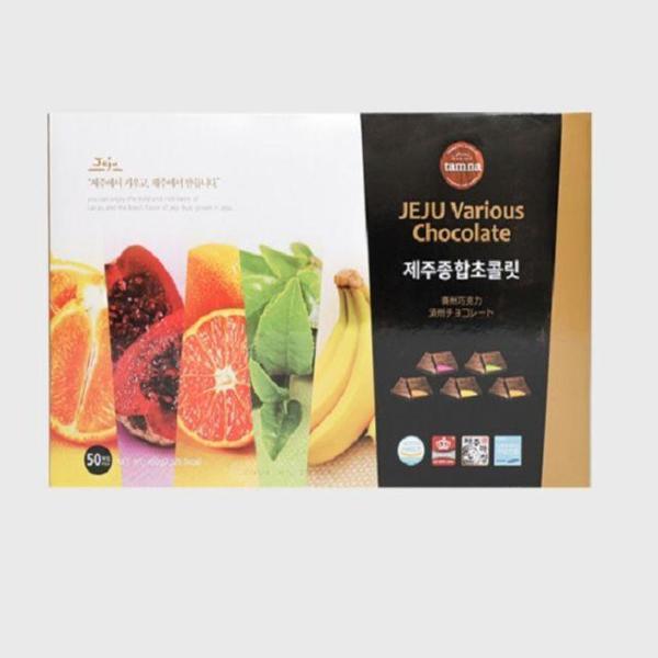 제주탐라 종합초콜릿 특대형(50개입) 한라봉 감귤 상품이미지