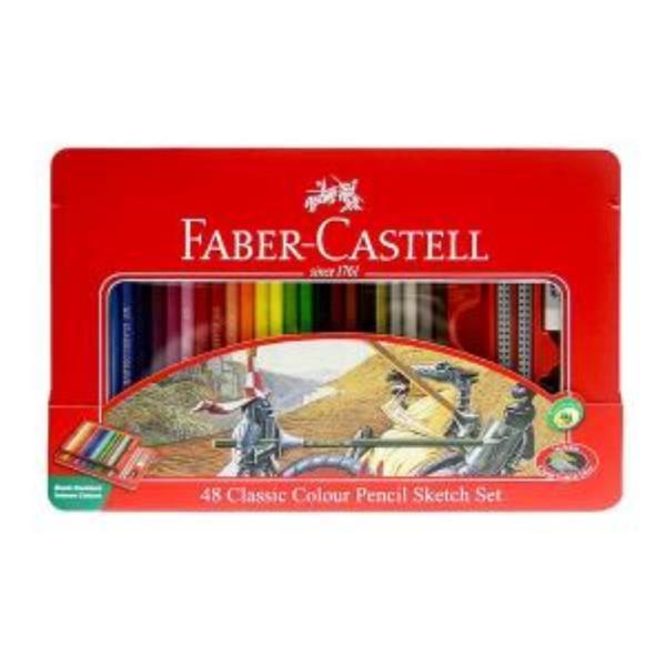 파버카스텔 일반 색연필 틴 48색 스케치세트 상품이미지