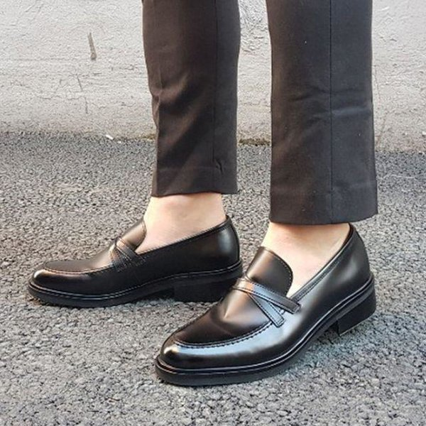 남성 컴포트화 신발 데일리 정장 로퍼 구두 단화 슈 상품이미지