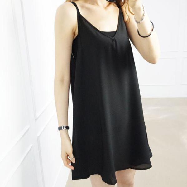 여성 큰옷 IN 끈롱나시(0018RH804) 빅사이즈 상품이미지