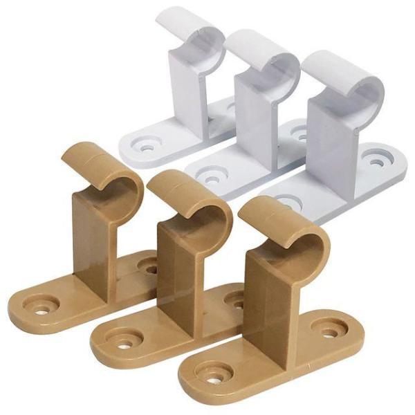 알미늄 2단 커튼브라켓(길이조절)35mm K-354 커텐봉 상품이미지