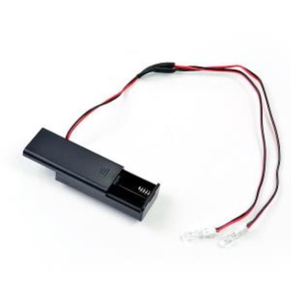 LED컬러 미니 전구 2구 건전지형/줄전구 상품이미지