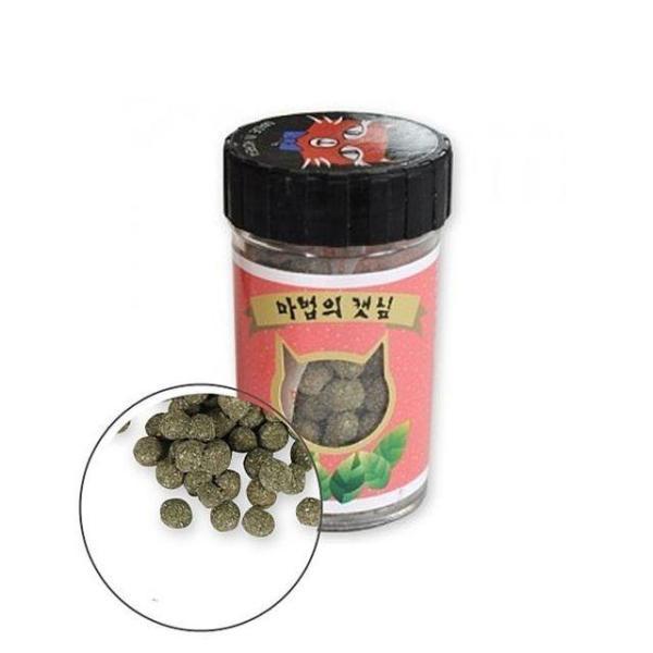 PMC 326 마법의 캣닢 환  고양이 캣 잎 닢 먹이 간 상품이미지