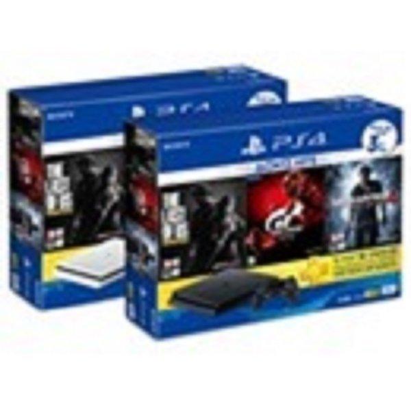 PS4 플스4 2117 슬림 블랙 500GB 히트 번들 새제품 상품이미지