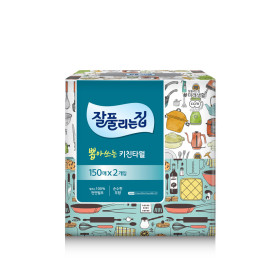 잘풀리는집 뽑아쓰는 티슈 키친타올 150매 2입 /휴지