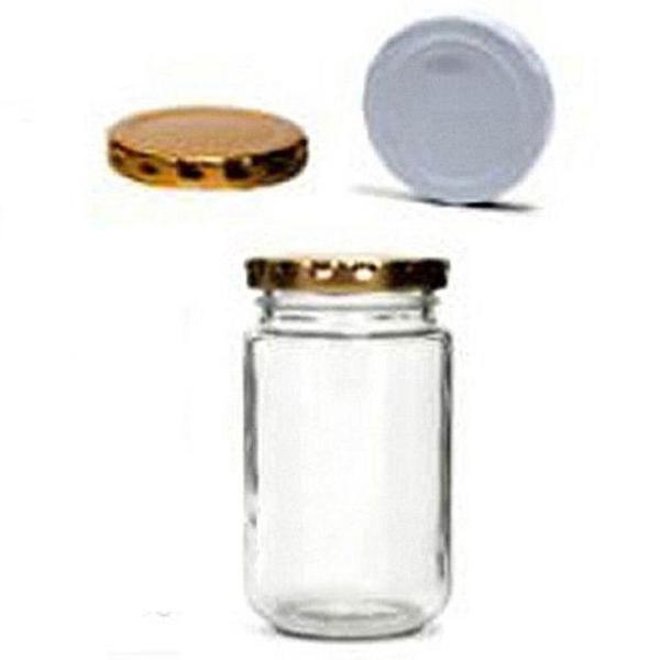 유리병 HA250(250ml) (58mm화이트뚜껑) 밀폐용기 상품이미지