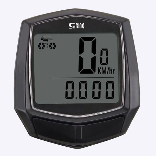 Coms 자전거 차임 벨 나침반 기능 블랙 상품이미지