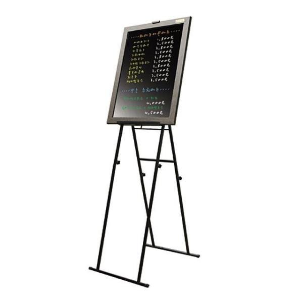 삼화 BB-500CE 인조목 블랙보드 마카펜 이젤 포함/ 상품이미지