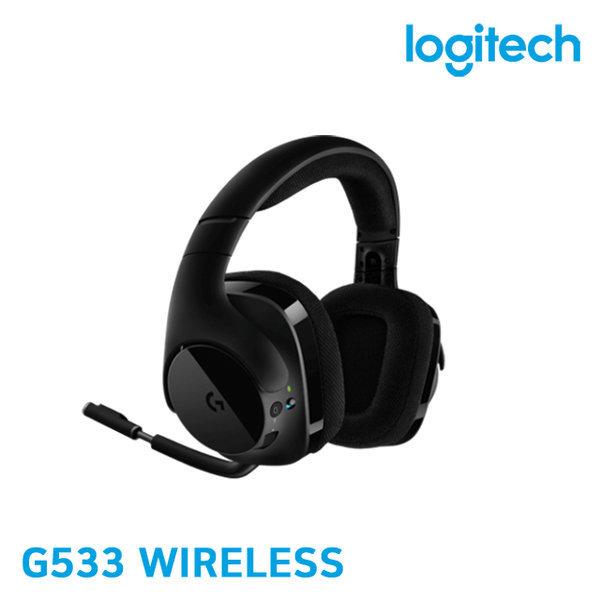 로지텍 G533 무선 DTS7.1게이밍헤드셋 병행 새제품 상품이미지