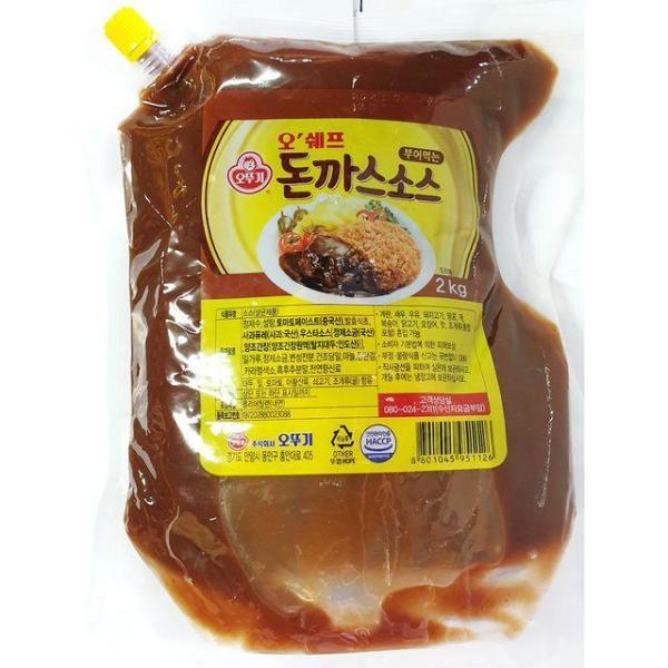 돈까스소스(부어먹는오쉐프 오뚜기2k) 식당 식재료 상품이미지
