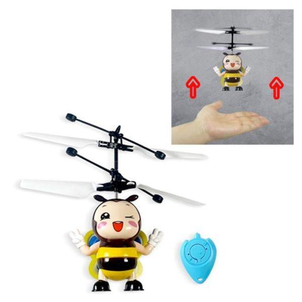 플라잉볼 꿀벌 충전식 프로펠러 센서드론 헬기장난 상품이미지