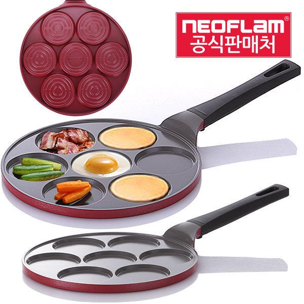 네오플램 핫케이크팬/팬케이크팬/에그팬/계란후라이팬 상품이미지