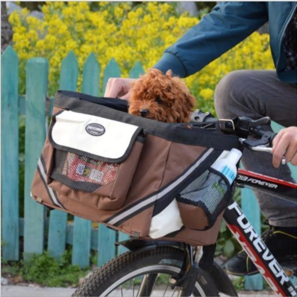 애완견 자전거 바구니 캐리어 이동가방 펫가방 상품이미지