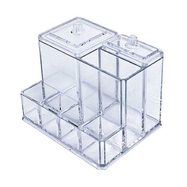 화장솜 면봉 립스틱꽂이 계단형 PL17 수납 면봉꽂 상품이미지