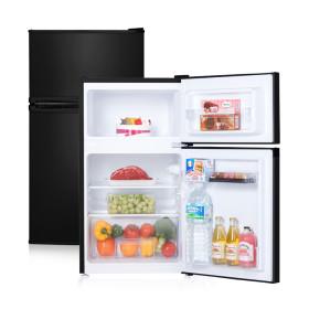 소형냉장고 90L 1등급 소형 사무실 예쁜 냉장고 블랙