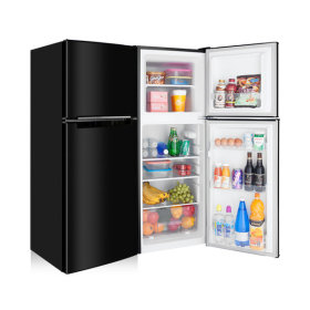 소형냉장고 138L 2도어 블랙 미니 일반 냉장고 1등급