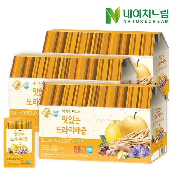 네이처드림 맛있는 도라지배즙 30포 3박스/건강즙 선물 상품이미지