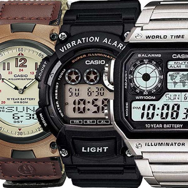 전자손목시계 남성여성스포츠 군대군인방수 AW-80V-5B 상품이미지