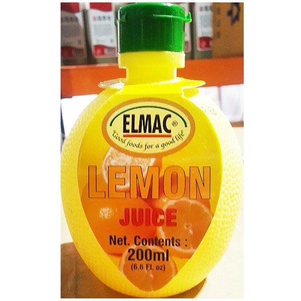 레몬주스(엘막 200ml)  주스 레몬주스 레몬음료 음료 상품이미지