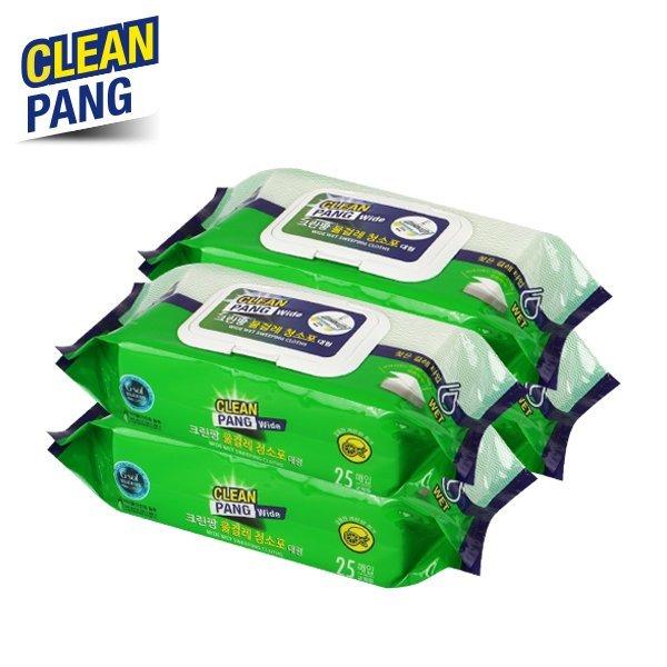 (크린팡) 대형 물걸레 청소포(100매) 상품이미지