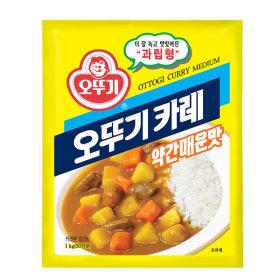 오뚜기 카레 약간 매운맛 1kg /대용량